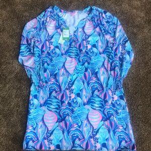 Lilly Pulitzer, Twilight Blue Brynle Dress